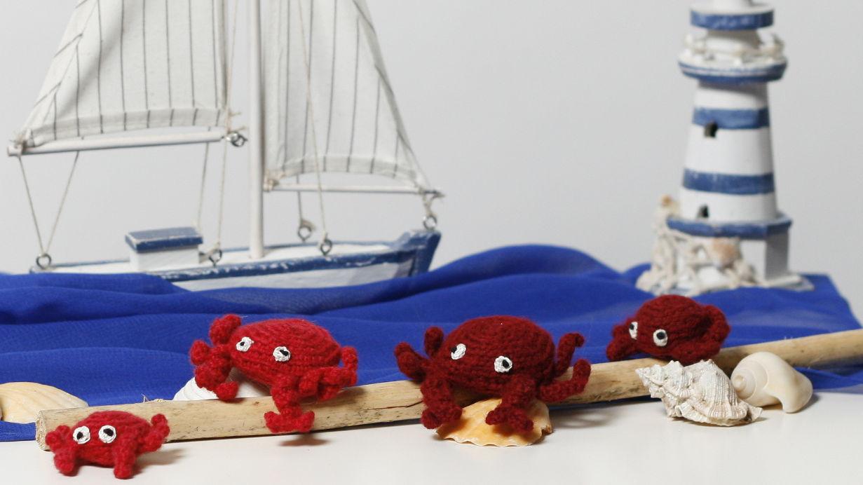 Krabbe Häkelanleitung Teil 1 Parivonnes Häkelblog