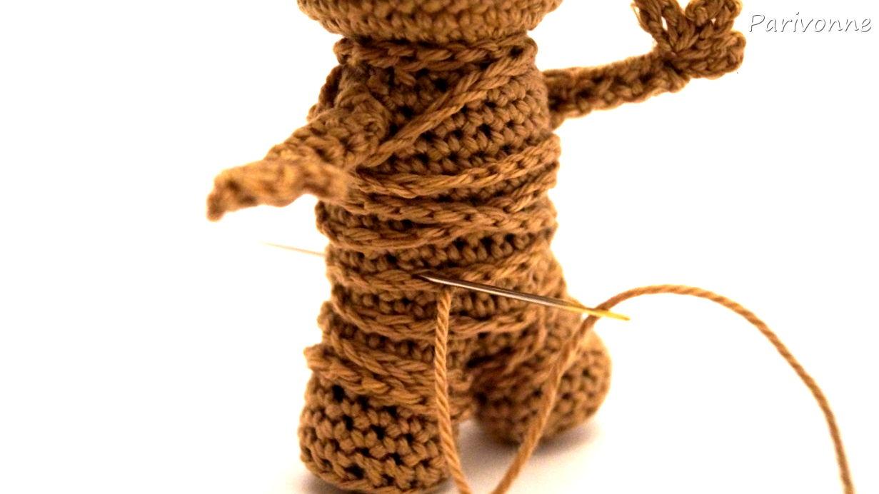 Baby Groot | Parivonnes Häkelblog