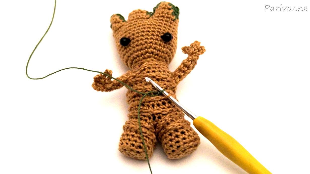 Baby Groot 1m Groß Häkeln Parivonnes Häkelblog