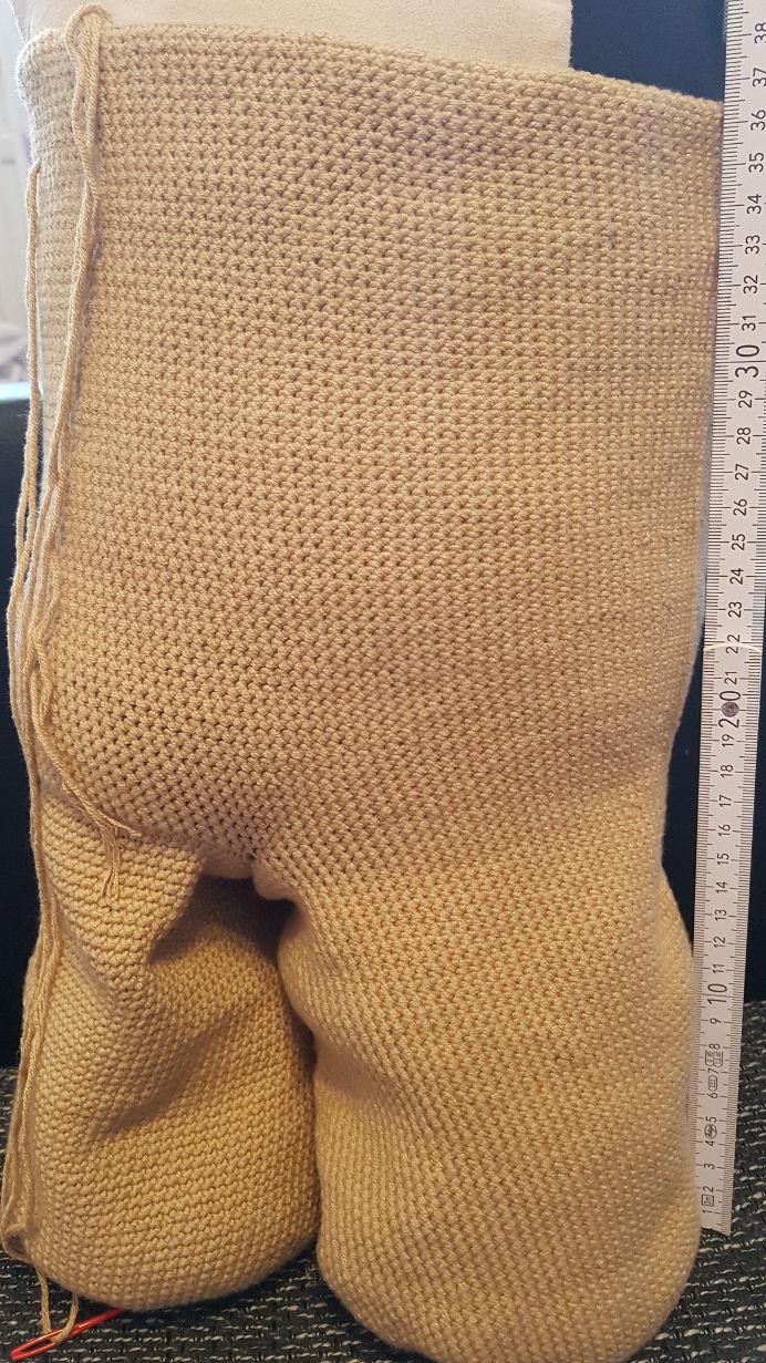 Baby Groot 1m groß häkeln | Parivonnes Häkelblog