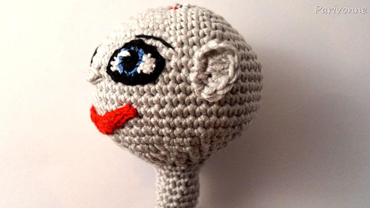 Puppe Joker Parivonnes Häkelblog