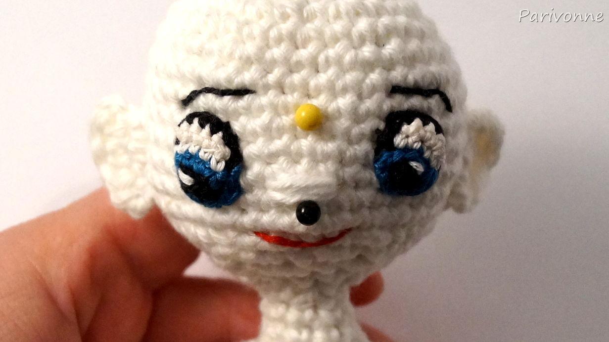Harley Quinn Augen Häkeln Und Gesicht Parivonnes Häkelblog
