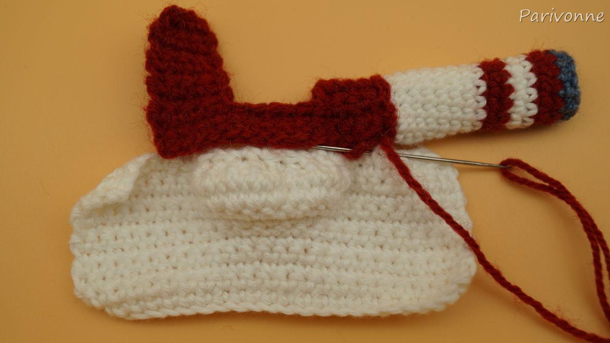 Puppenkleidung – Pullover häkeln | Parivonnes Häkelblog