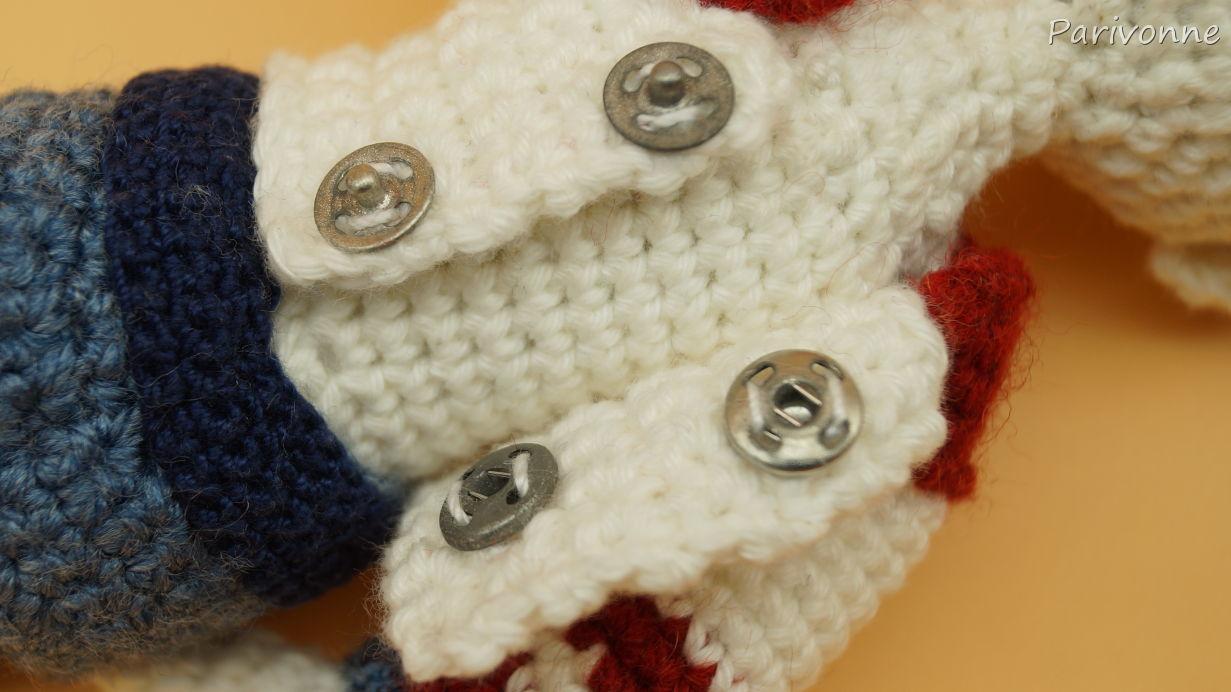 Puppenkleidung Pullover Häkeln Parivonnes Häkelblog