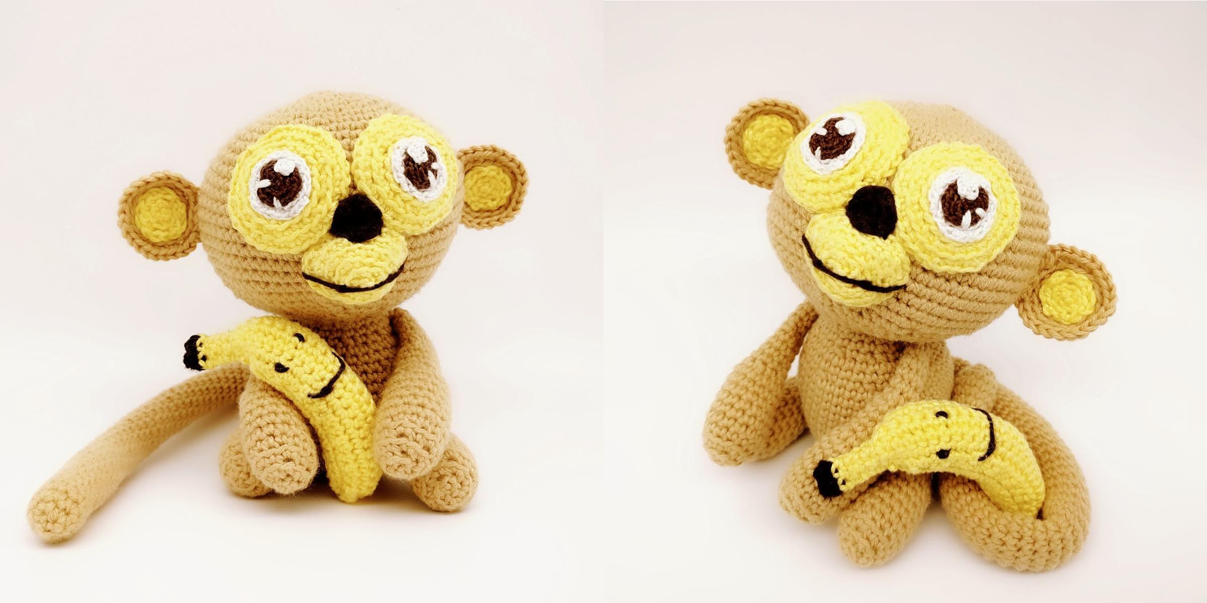 Benny Der Bananenliebende Affe Parivonnes Häkelblog